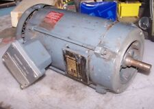 BALDOR 3/4 HP HAZARDOUS LOCATION ELECTRIC AC MOTOR 115/230 VAC 1725 RPM 1Ø