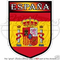 SPAIN Shield Reino de Espana EU Spanish Kingdom 100mm Bumper Sticker Decal