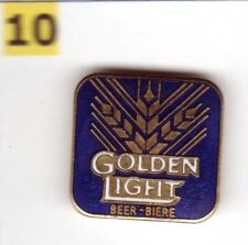 Pinsfolies *** Pin's Badge egf Biere Beer Golden Light