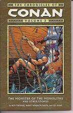 The Chronicles Of Conan Vol 3  TPB The Monster Of The Monoliths B Windsor Smith