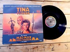 TINA TURNER MAD MAX BEYOND THUNDERDOME NO LP MAXI 45T VINYLE EX COVER EX 1985