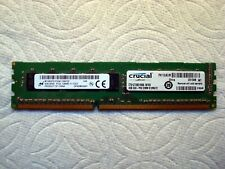 New listing 1 Crucial 4Gb (2Rx8) Pc3L-12800E Ddr3-1600Mhz Ecc Cl11 240 Ct51272Bd160B.18Fkd