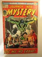 1972 Marvel Comics Group JOURNEY INTO MYSTERY Vol 2 #1  5.0 VG/FN