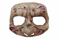 Morris Costumes Adult Unisex Zombie Motif Latex Half Mask One Size. TB27636