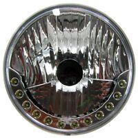 "NEW 7"" Round LED DRL style Headlights for Austin Mini Morris van cooper/s pickup"