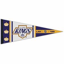 "Los Angeles Kings Reverse Retro Premium Quality Pennant 12""X30"" Banner"