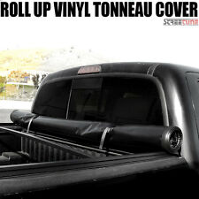 "Lock & Roll Up Soft Tonneau Cover 04-14 F150 Supercrew Styleside 5.5 Ft 66"" Bed"