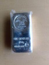 Silberbarren / Münzbarren 250g Feinsilber 999 Umicore Andorra 10 Dinars 2012