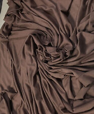 Micro Bamboo Spandex Jersey Knit Fabric Ecofriendly HighEnd Fabric COCOA 9 oz