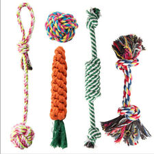 Dog Rope Toys for Aggressive Chewers - Set of 5 Nearly Indestructible Dog Toys