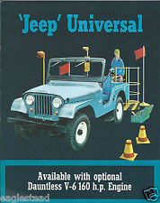 Truck Brochure - Kaiser - Jeep - Universal - Dauntless V-6 Engine c1965 (T1140)