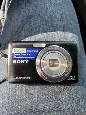 Sony Cyber-shot DSC-W310 12.1MP Digital Camera - Black