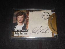Jericho TV-Show Autograph Trading Card #A8 Erik Knudsen as Dale Turner Razor