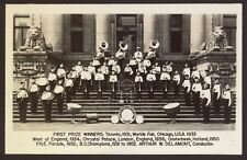 More details for canada. vancouver boys band. first prize winners: toronto 1931, chicago 1933 etc