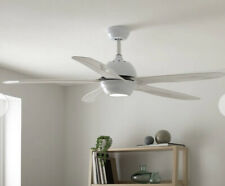 Argos Home Modern Remote Control Ceiling Fan - White