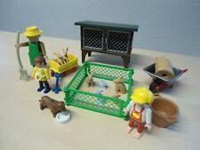 """Playmobil Bauernhof Set 3751  """"Hasenstall""""  gebraucht"""