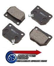 Set OE Quality Rear Brake Pads- Axle Set- For Z32 300ZX VG30DETT Turbo