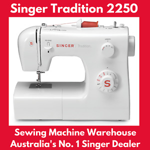 Singer Tradition 2250 Sewing Machine, Metal Frame, Easy to Use, New!   35% OFF!