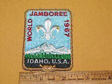 1967 World Jamboree Patch Idaho BSA
