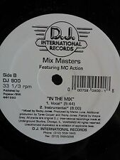 "Mix Masters-In The Mix 12"" Rare House Hit"