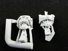40K Space Marine Iron Hands Finecast Front Body / Torso's (2)
