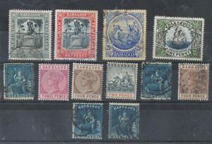 BARBADOS - Lot of old stamps