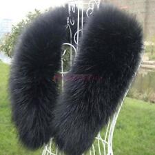 Winter Faux Fur Collar Raccoon Fox Fur Collar Scarf Stole Cape Muffler Wrap FT