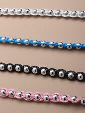 Resin Beaded Costume Bracelets without Metal