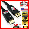 4K Display Port DP to HDMI 60Hz 2160P 25.92Gb HDR Audio Video Cable Adapter 6FT