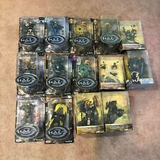 14 BRAND NEW Halo 2 & 3 Action Figures Limited Edition Series Exclusive LOT