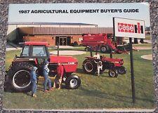 CASE International Harvester 1987 AG EQUIPMENT BUYER'S GUIDE Dealer Brochure