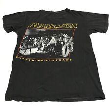Vintage MARILLION Shirt 1985 Clutching At Straws Original 80s RARE Band USA made