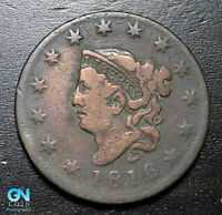 1816 Coronet Head Large Cent   --  MAKE US AN OFFER!  #B3637
