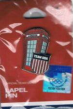 2012 London USA Olympic Team Phone Box NOC Pin New in Package