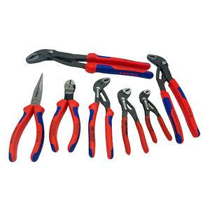 Knipex Cobra Wasserpumpenzange Zangensatz Werkzeug Seitenschneider Zangen Set