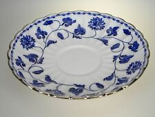 Spode Blue Colonel Platinum Saucer NEW WITH TAG Made in India