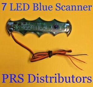 7 BLUE LED SCANNER Car LED Decoration Pretend you have alarm security in car