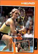 Tennis Autograph Head Autogrammkarte handsigniert Natalie Grinham Netherlands