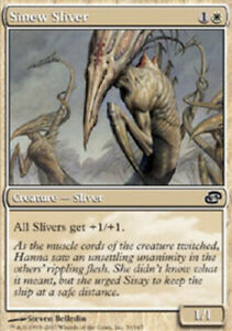 Russian Sinew Sliver ~ Near Mint Planar Chaos Foreign MTG Magic UltimateMTG Whit