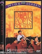Dead Poet's Society DVD BRAND NEW SEALED RARE TOP 250 MOVIES ROBIN WILLIAMS R4