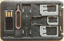 SIM Karten Organizer mit Cardreader (Kartenleser) - NEU