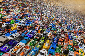 🔥🔥UNSEARCHED Lot Of Over 1b!!! Vehicles ( Hot Wheels, Matchbox, ) 1:64 Scale!!