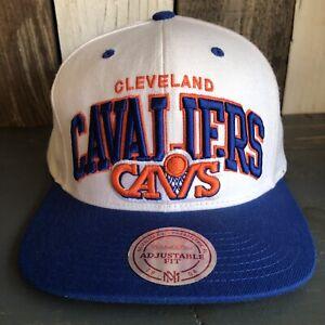 NBA Cleveland Cavaliers Basketball • Mitchell & Ness • Snapback Cap Hat Lid OSFA