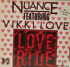 "12"", Nuance, Love Ride, Island, BRD 1984,"