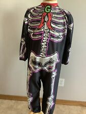 Vintage 1996 Goosebumps Curly Skeleton Suit Child's Costumes 7-10 Years Preowned
