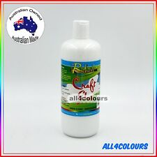 500ML OZ Made NON TOXIC Craft Glue ACID FREE adhesive Non Staining Water Base
