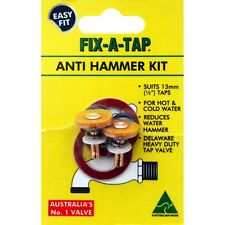 """FIX-A-TAP ANTI HAMMER KIT HEAVY DUTY TAP VALVE REDUCES WATER HAMMER FOR 1/2"""" 13m"""
