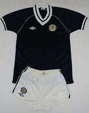 1982-1985 Escocia Umbro Fútbol Kit (talla S)