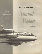 Delta Air Lines annual report 1949 [3052]