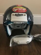 Schutt DNA Pro Plus Adult Medium Football Helmet with Chin Strap Navy NEW 2022